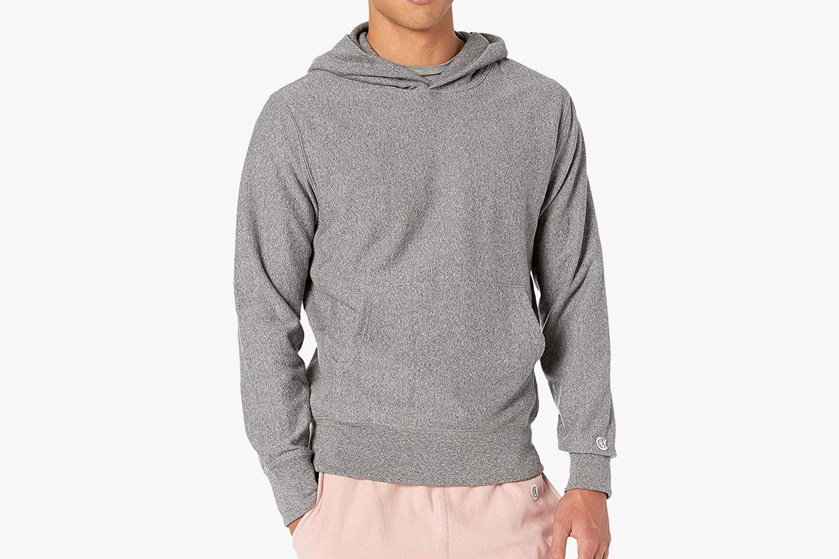 Todd Snyder – Champion Popover Hoodie Salt and Pepper