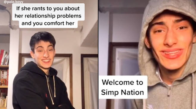 what does simp mean