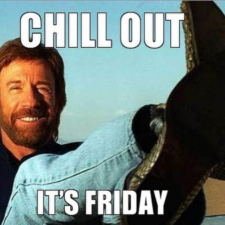 chill out friday