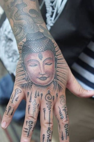 hand tattoos for men