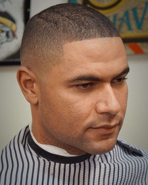 buzz cut hairstyles for men 2020