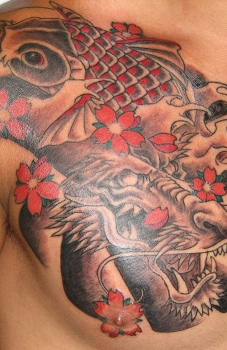 japanese dragon tattoo meaning