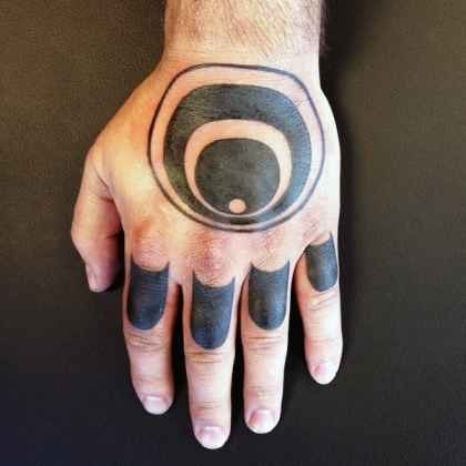 cool knuckle tattoos for men