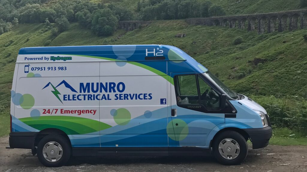 Munro Electrical Services The Van