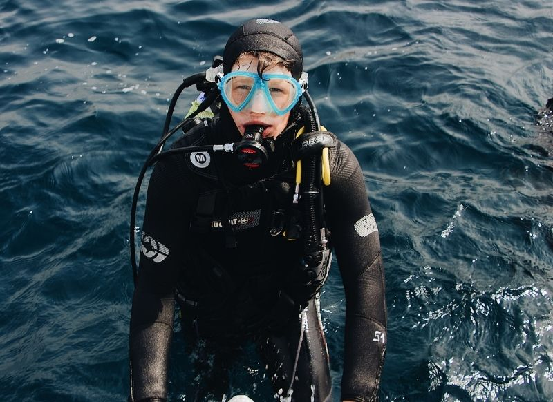 ssi open water diver murcia
