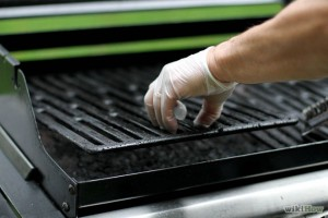 Clean oven rack