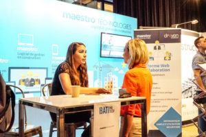 Vicki Grondin , Maestro Technologies, Caroline Gaudreault, Immophoto Batimatech 2018 - 18 Sept Nidesco-126