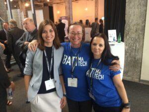 2Liliia Abudarova, Josée Bourdages et Mihaela Trifescu Batimatech 2018