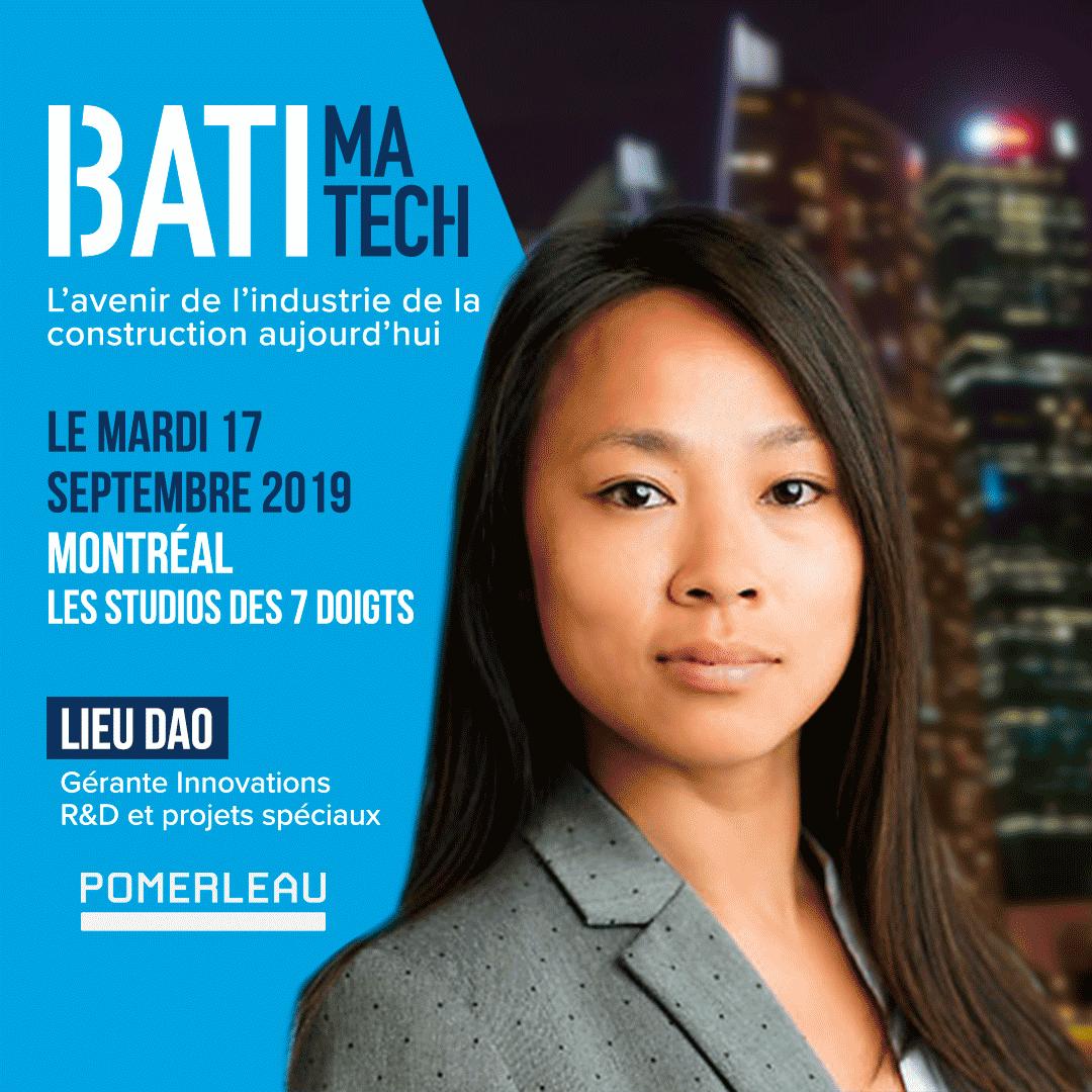 conferencier Batimatech - Lieu Dao
