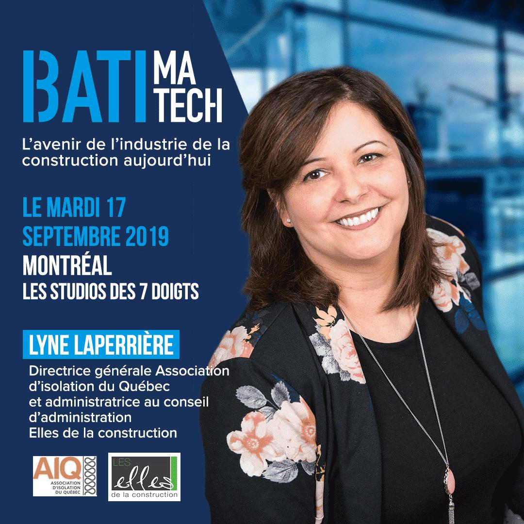Lyne Laperriere jury Batimatech