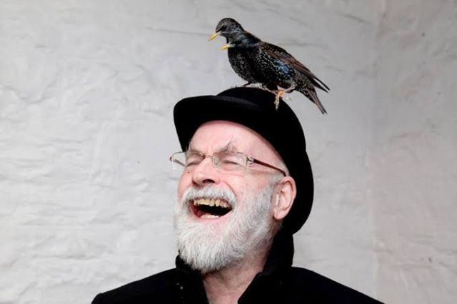 Terry Pratchett and Bird