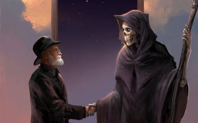 Terry Pratchett and Death