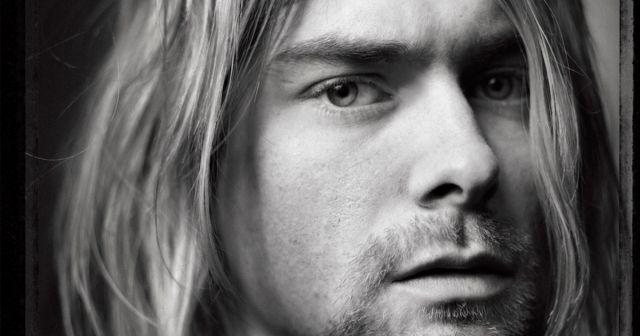 Kurt Cobain Close Up