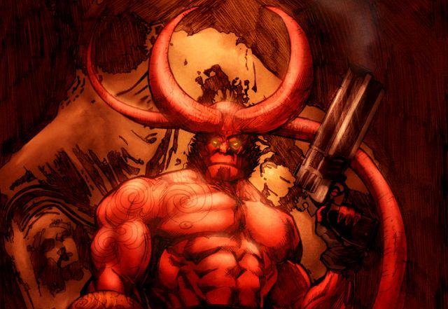 Hellboy Demon Form