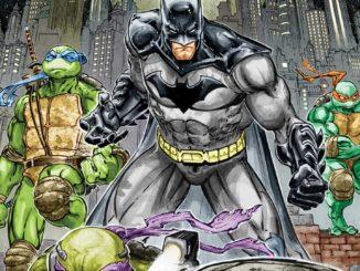 Batman TMNT Cover 1