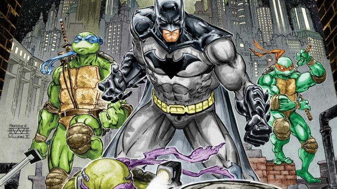 Batman TMNT Cover 1