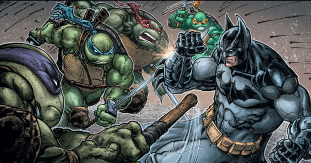 Batman vs Ninja Turtles