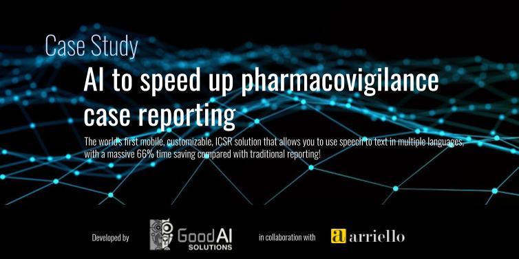 Case Study: AI to speed up pharmacovigilance case reporting