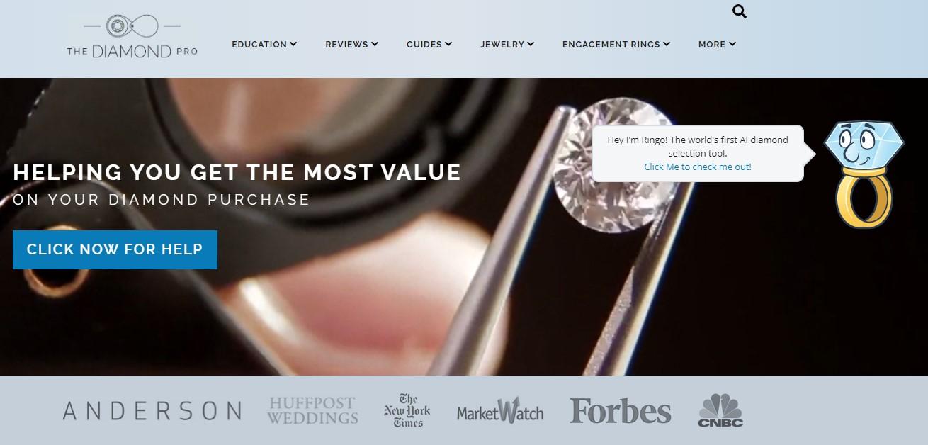 Case study: The Diamond Pro, AI visual inspection to choose the right diamond