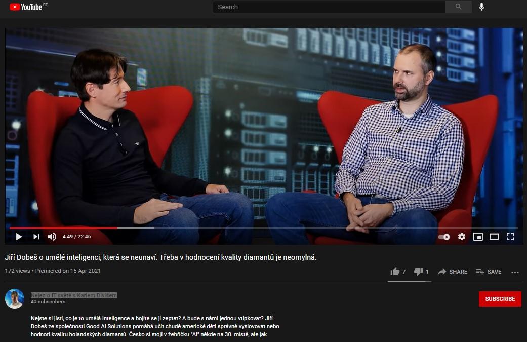 Podcast: What is AI on the Nejen o IT světě show [Czech Only]