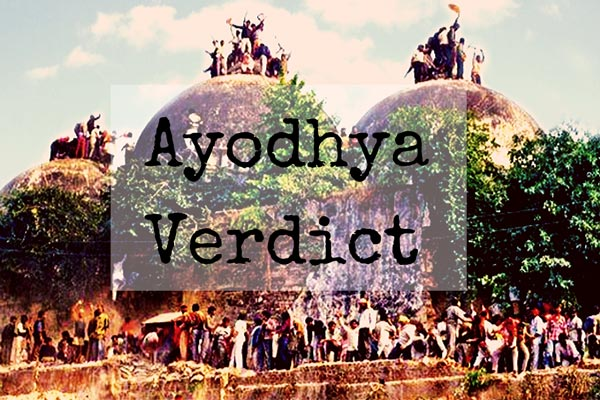 Analysis of Ayodhya Verdict : The Dispute That Divided Nation