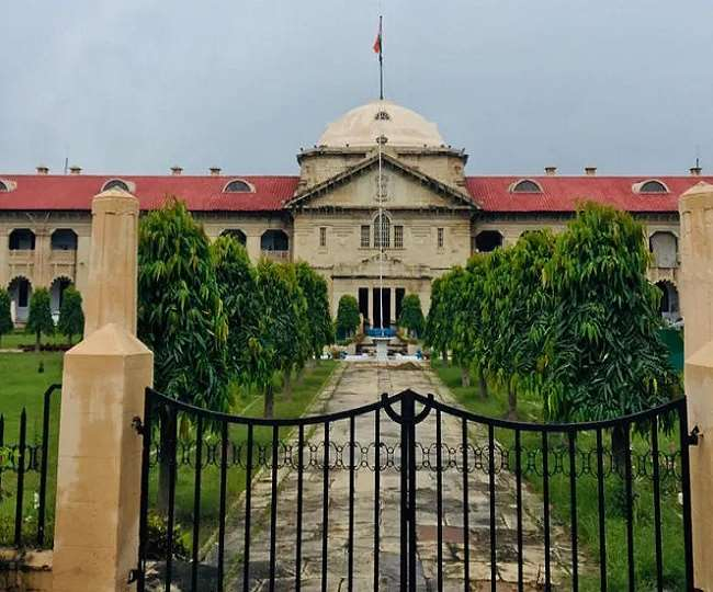 High Court of Allahabad sought response of Law Department of the state of UP as to whether in absence of trial, liberty of the accused-applicant may be curtailed
