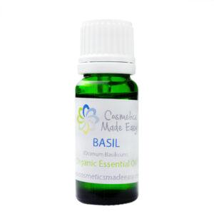 Organic Basil (Ocimum Basilicum) Essential Oil