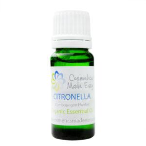 Organic Citronella (Cymbopogon Nardus) Essential Oil