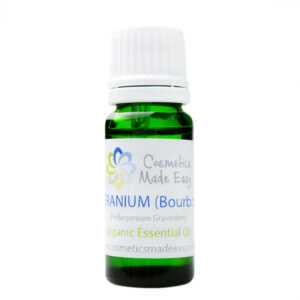Organic Geranium Bourbon (Perlargonium Graveolens) Essential Oil
