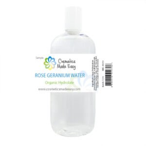 Rose Geranium Floral Water (Organic Hydrosol)