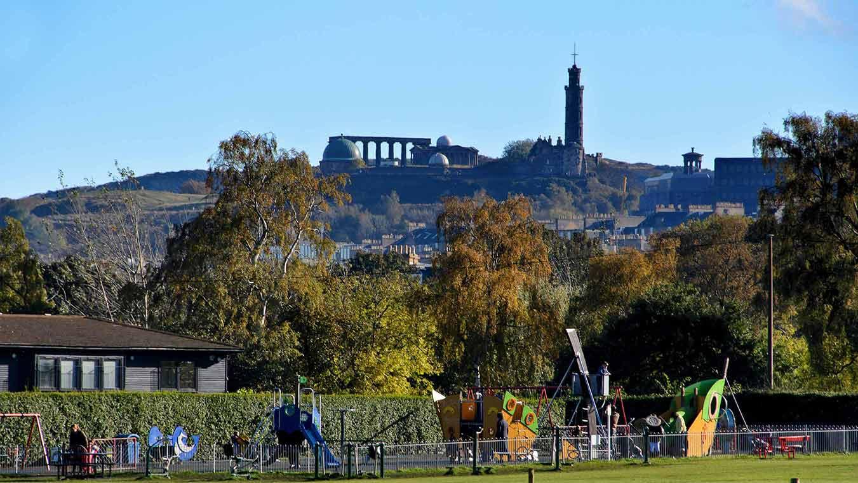 Nelson Monument Calton Hill Inverleith Park