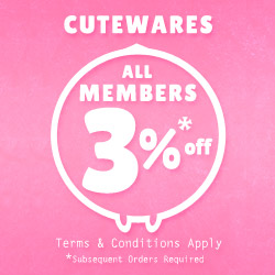 Member Get More 3% Off For The Second Purchase