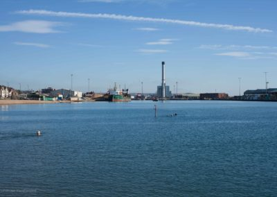 Shoreham Harbour and Power Station