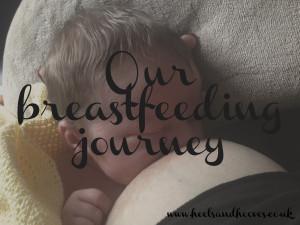Our breastfeeding journey