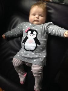 Primark penguin jumper dress