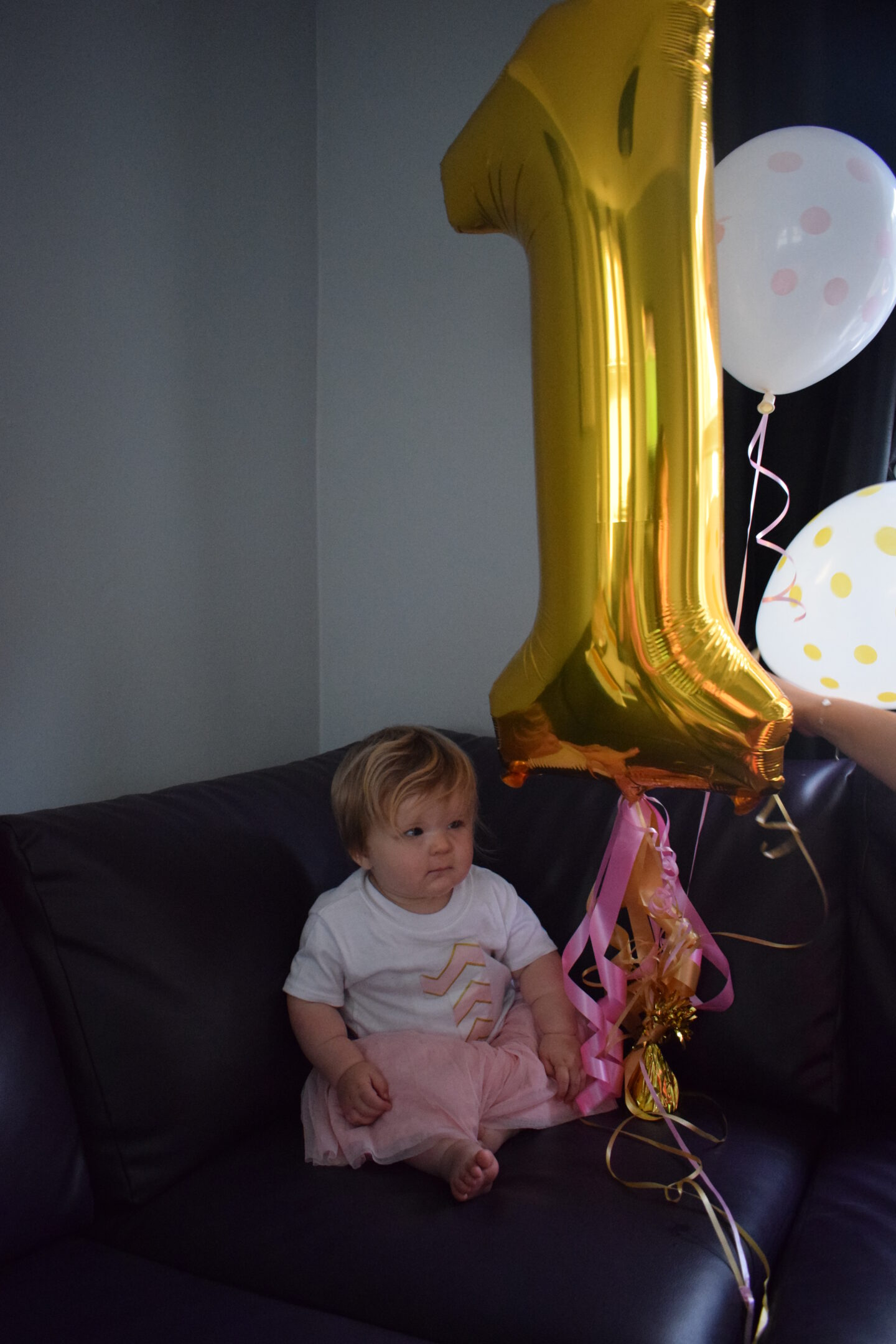 Lottie's first birthday celebrations