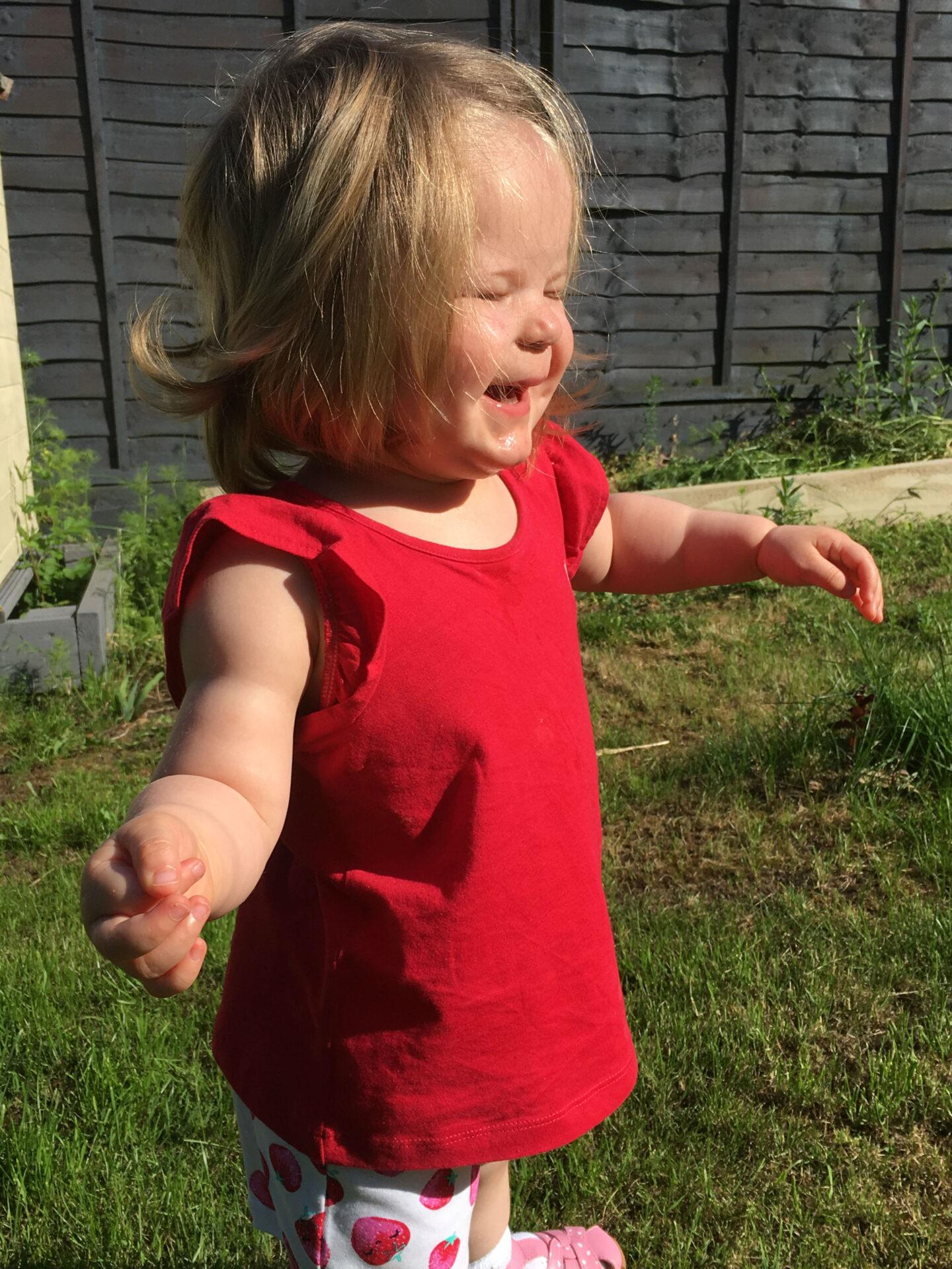 Dear Lottie Bella: 22 months old