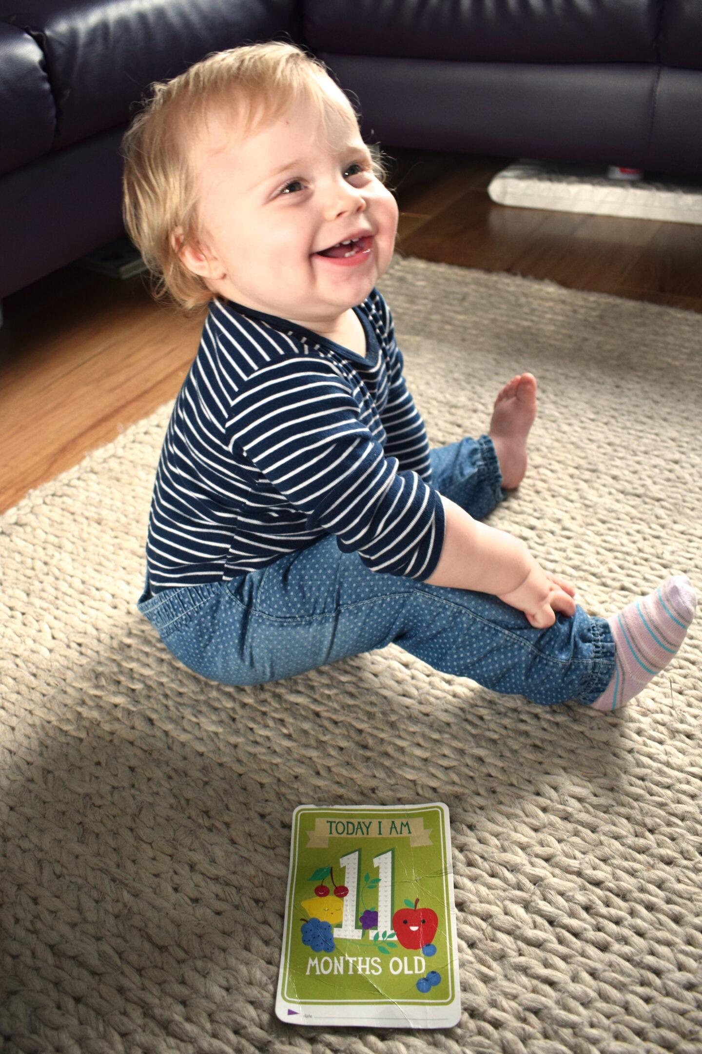 Dear Frankie Mabel: 11 months old