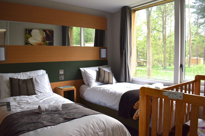 3 bedroom woodland lodge Center Parcs Elveden Forest