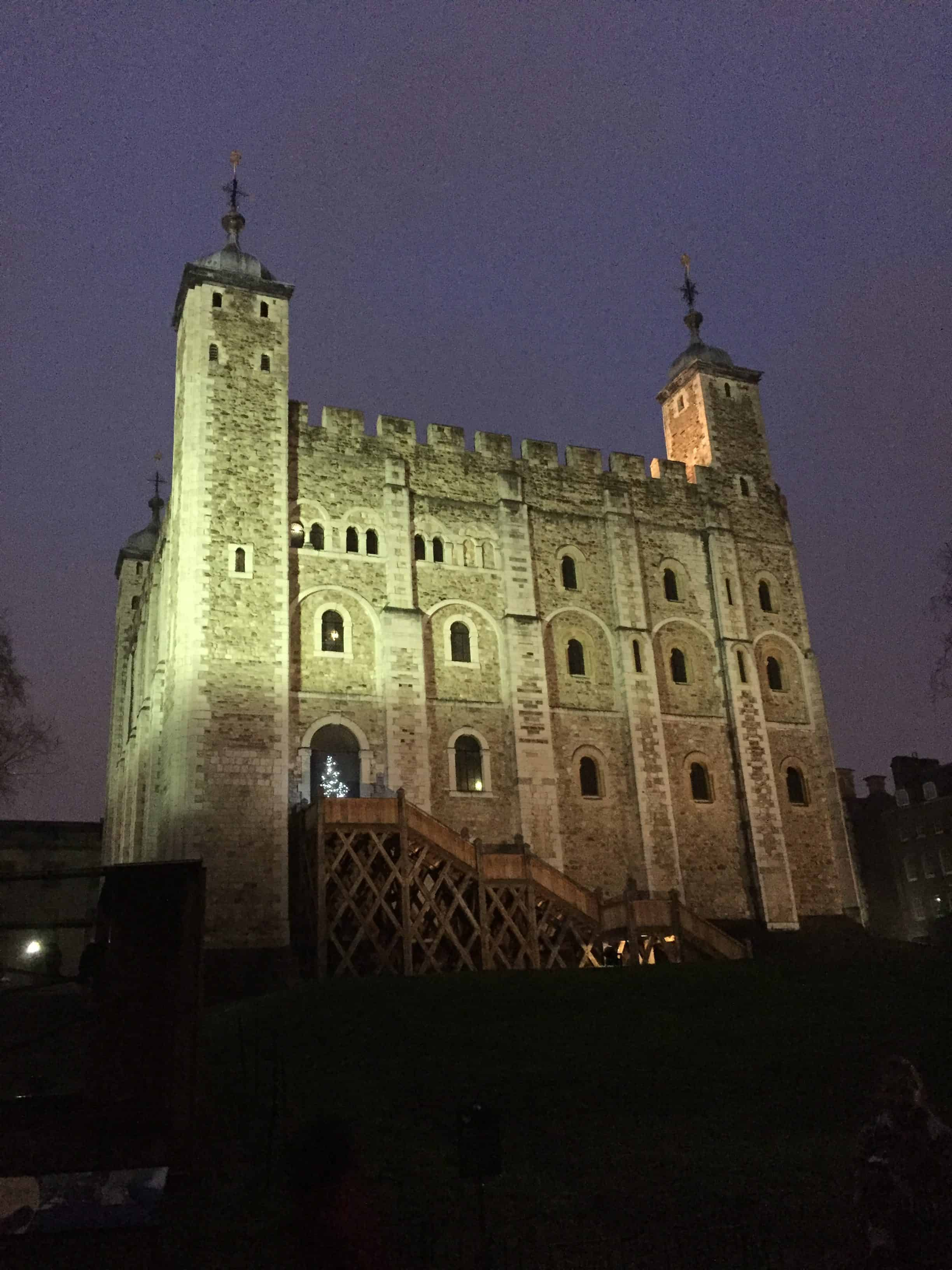 Tower of London night