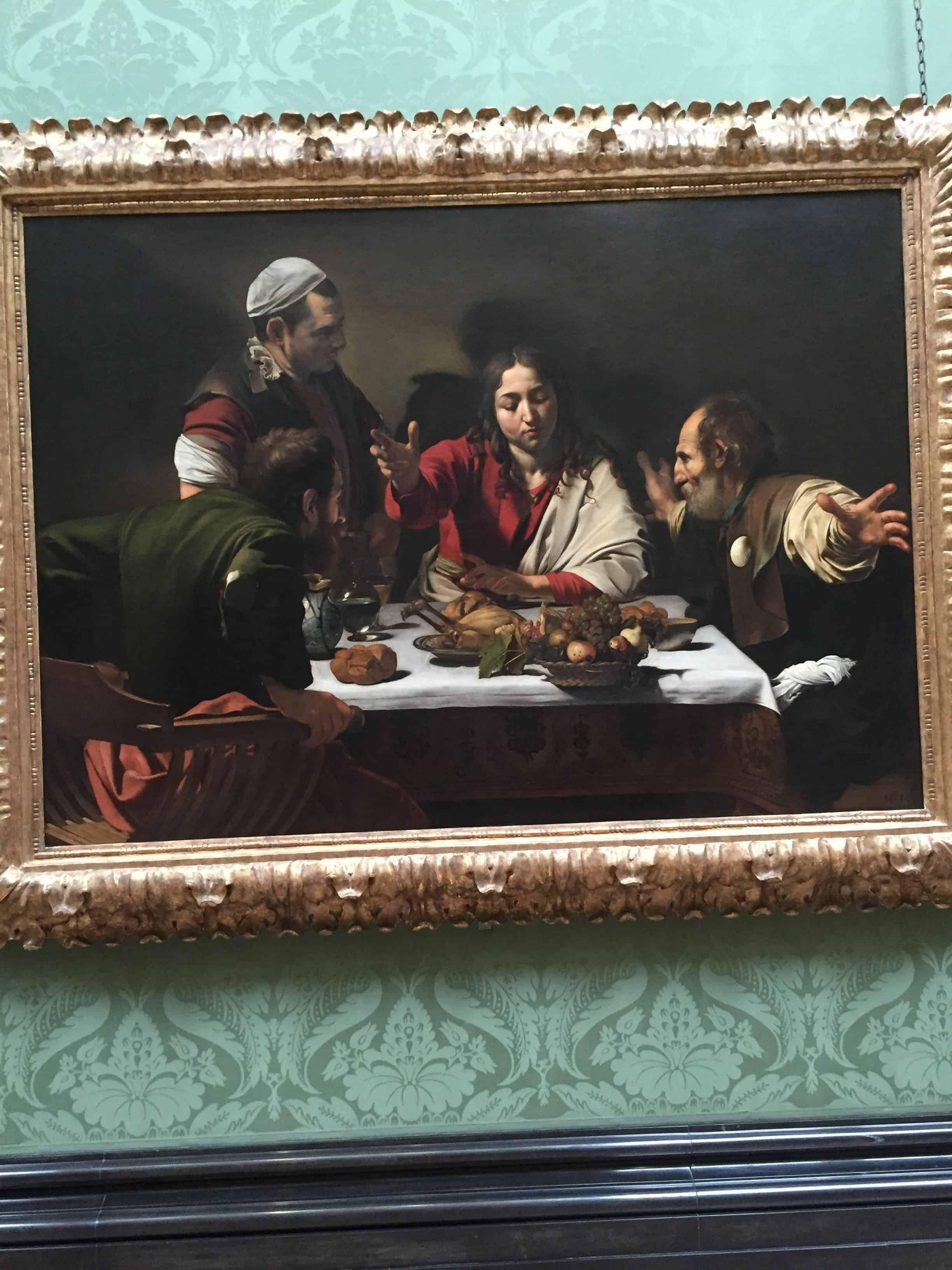 Quadro na Galeria Nacional