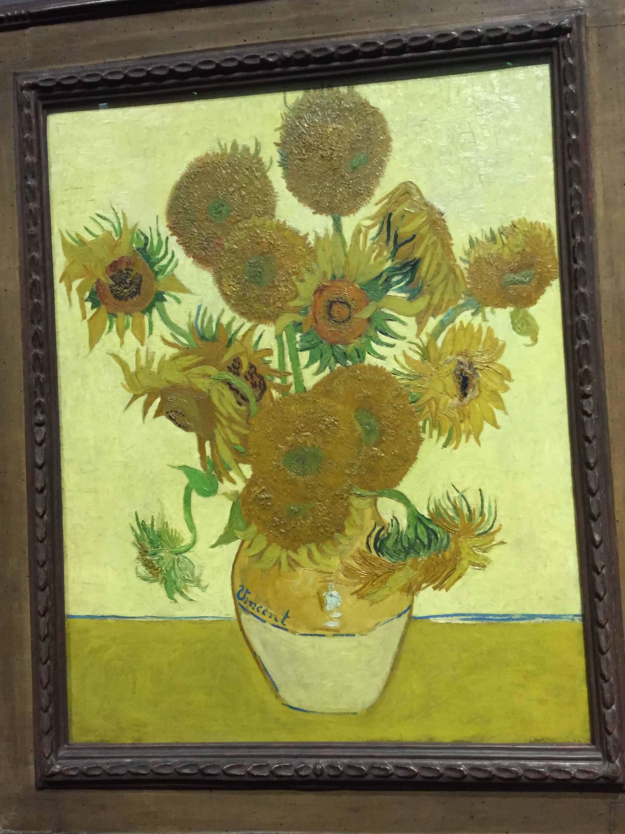 Vaso de Flores Van Gogh