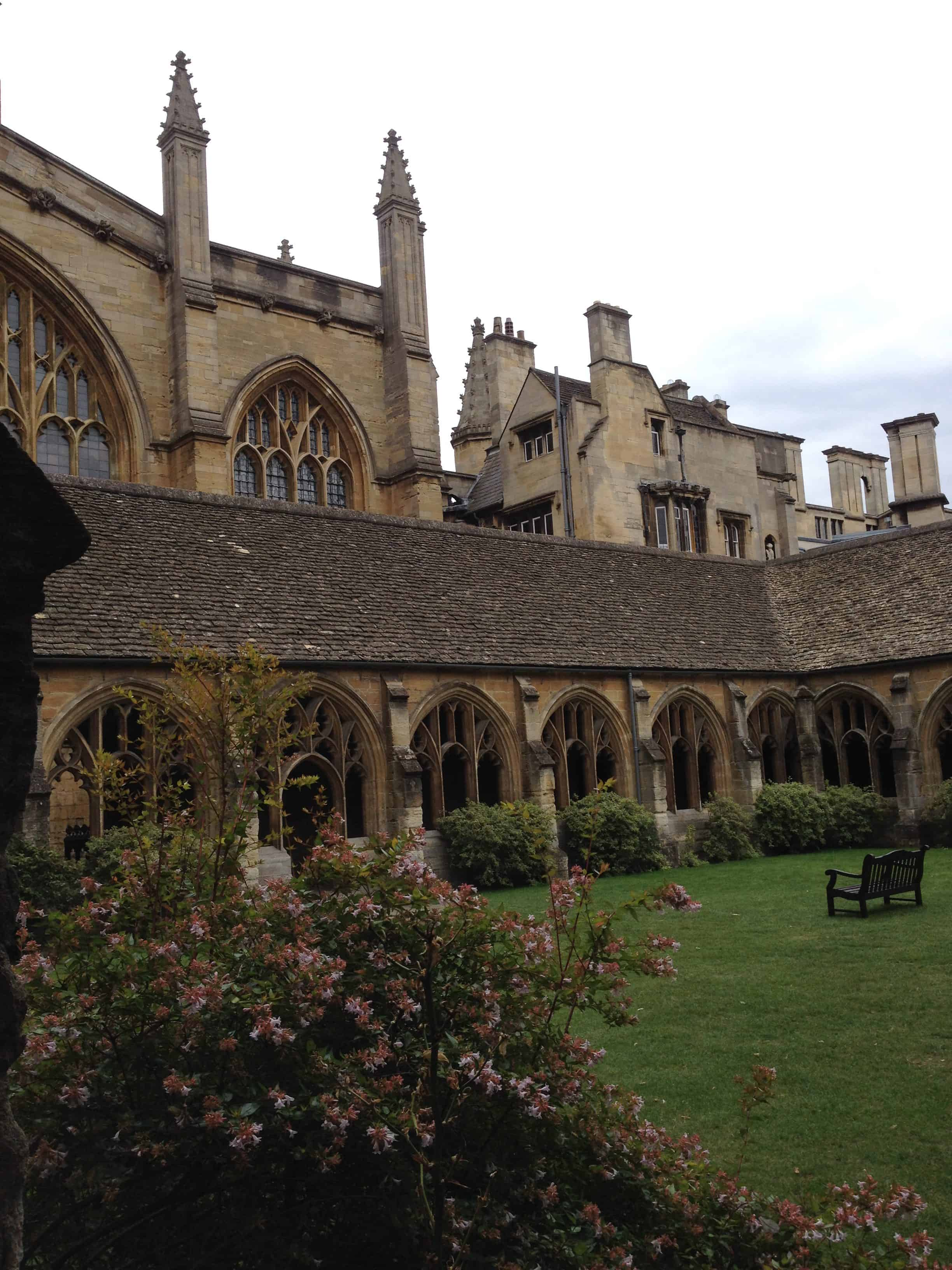 New College in Oxford
