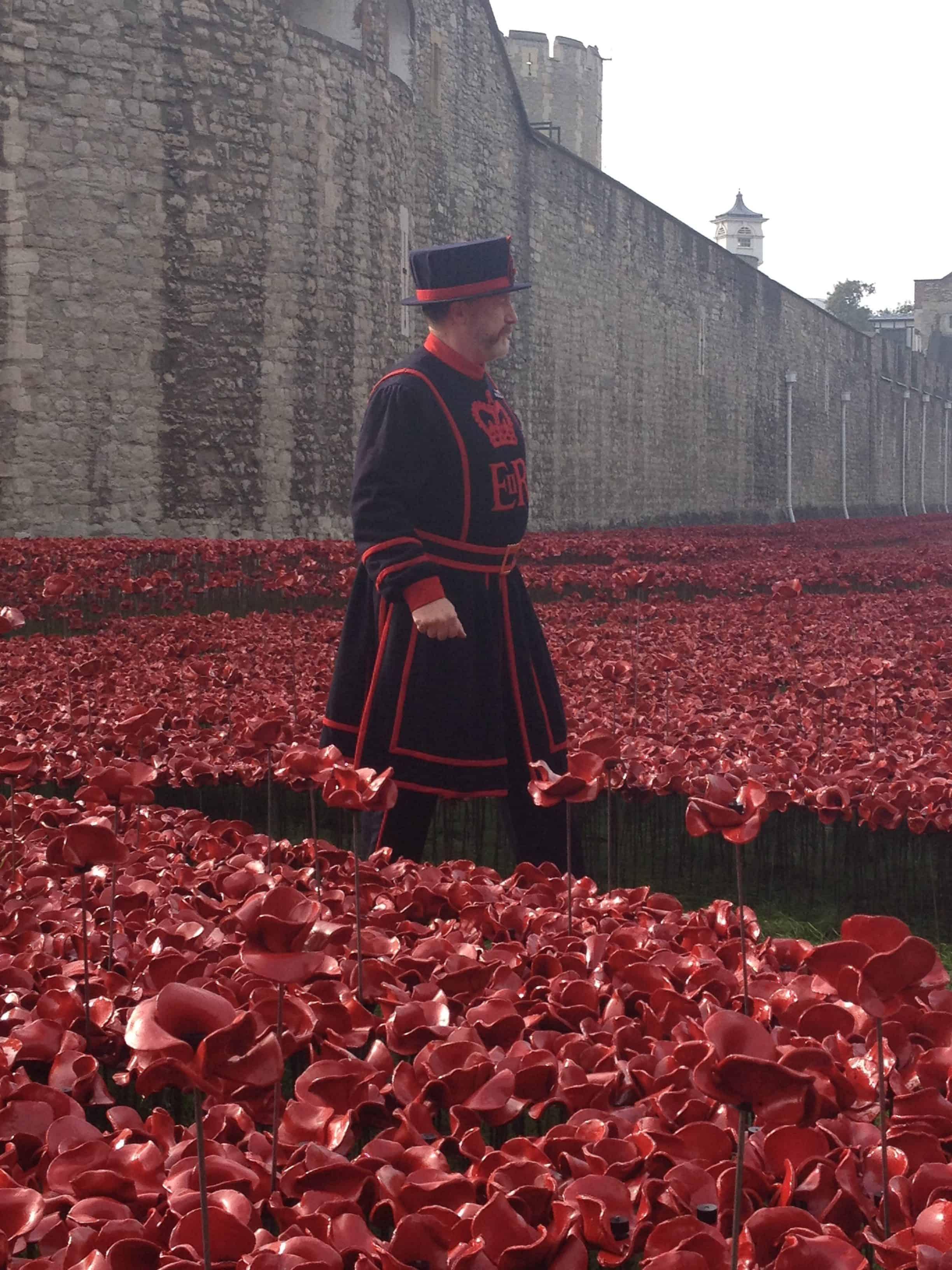 Poppies na Torre de Londres