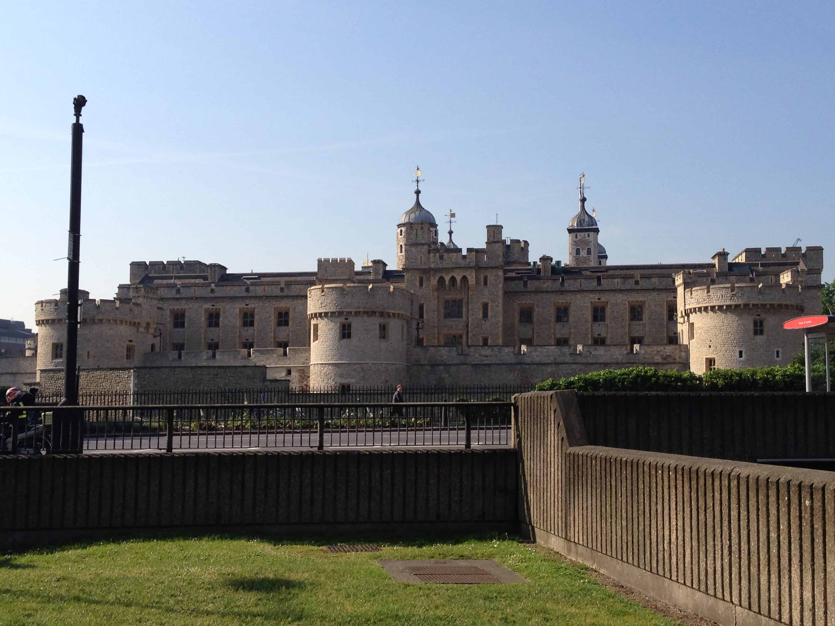 Tower of London Outside