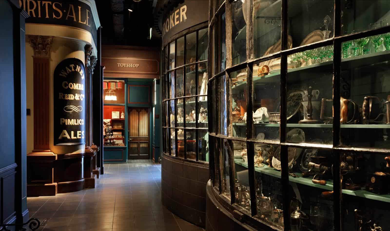 Interior do Museu de Londres