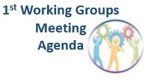 1st Working Group meeting Agenda