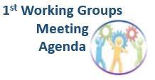 1st Working Group meeting Agenda