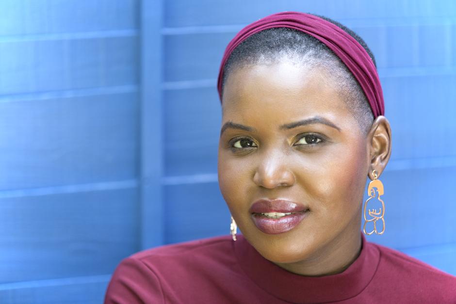 Black woman head shot portrait captured by Kent photographer Victoria Green