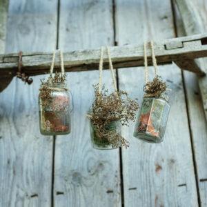 Food glass jar waste recycling